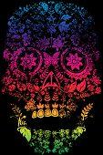 Day of the Dead Sugar Skull Design