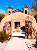 El Santuario de Chimayo in Chimayo, New Mexico