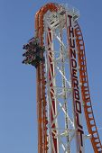The Thunderbolt roller coaster at Coney Island in Brooklyn