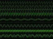Oscilloscope Waves