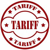 Tariff-stamp