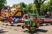 Small Children Playground Area