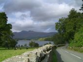 Road Next To Derwent Water