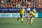 THE HAGUE, NETHERLANDS - JUNE 13: Australia beats Agentina 5 - 1 in the semi-finals of the World Cha
