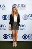 LOS ANGELES - MAY 19:  Yael Grobglas at the CBS Summer Soiree at the London Hotel on May 19, 2014 in