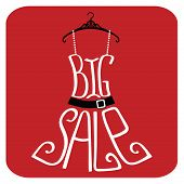 Silhouette Of Dress  From Words.big Sale
