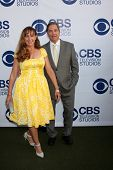 LOS ANGELES - MAY 19:  Wendy Bridges, Beau Bridges at the CBS Summer Soiree at the London Hotel on M