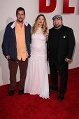 LOS ANGELES - MAY 21:  Adam Sandler, Drew Barrymore, Frank Coraci at the