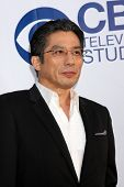 LOS ANGELES - MAY 19:  Hiroyuki Sanada at the CBS Summer Soiree at the London Hotel on May 19, 2014