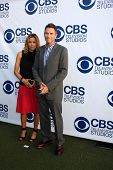 LOS ANGELES - MAY 19:  Tea Leoni, Tim Daly at the CBS Summer Soiree at the London Hotel on May 19, 2