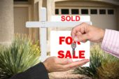 Blank Home For Sale Sign