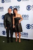 LOS ANGELES - MAY 19:  Leslie Moonves, Julie Chen at the CBS Summer Soiree at the London Hotel on Ma