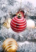 Bola Navidad Roja, decoración