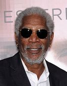 LOS ANGELES - APR 10:  Morgan Freeman arrives to the 'Transcendence' Los Angeles Premiere  on April