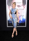 LOS ANGELES - APR 10:  Annie Marter arrives to the 'Transcendence' Los Angeles Premiere  on April 10, 2014 in Westwood, CA