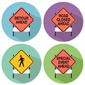 An image of road signs.