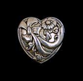 Close View Decorative Heart