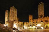 San Gimignano, Tuscany, Italy. .