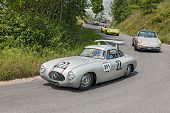 Mercedes-benz 300 Sl W 194 (1952) In Mille Miglia 2014