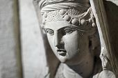 Sculpture Of A Dead Woman