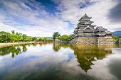 Matsumoto Castle in Matsumoto, Nagano, Japan.
