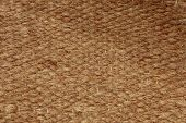 Brown Rough Camel Wool Fabric Texture Pattern As Background.