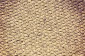 Rough Camel Wool Fabric Texture Suitable As Abstract Background.