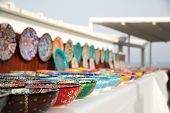 Turkish Traditional  Handpainted Pottery Bowls