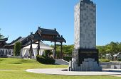 Warrior memorial of anti Japanese occupation