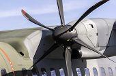 Airplane Propeller Detail.