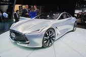 Infiniti Q80 Concept Car On Display