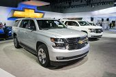 Chevrolet Suburban 2015 On Display