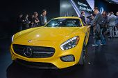 Mercedes Amg Gt S On Display