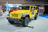 Jeep Wrangler Rubicon 2015  On Display