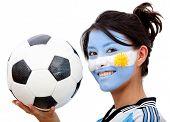 Argentinean Football Fan