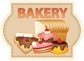 Banner of bakery products