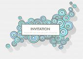 Doodle invitation with space for Your text