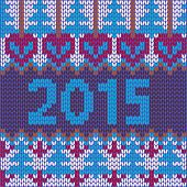 Background Of New Year With Knitted Texture
