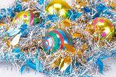 Christmas Balls And Garland