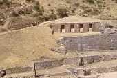 Inca Baths - Fine Stonework