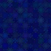 Abstract vector background Seamless dark blue pattern