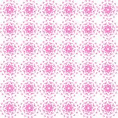 Abstract vector background Seamless dot and heart element pattern