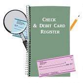 Check And Debit Card Register