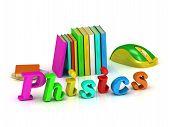 Physics Inscription Bright Volume Letter