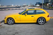 Yellow Bmw Z3 M Coupe Car