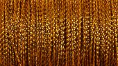 stock photo of coil  - Coil with gold thread  - JPG