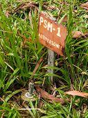 Anti Personel Mine Sign