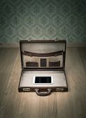 Travelling Light Only With Tablet
