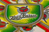 Beermats From Golden Pheasant Beer.it Is A Slovak Beer Brand.
