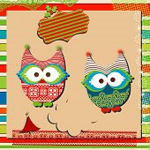 christmas cute owls